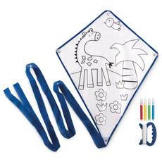 Aquilone per bambini in poliestere colore blu MO8925-04