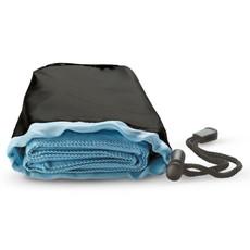 Asciugamano con custodia di nylon colore blu KC6333-04