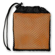 Asciugamano sport in sacca a rete colore arancio MO9025-10