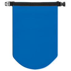 Borsa waterproof in PVC con capacita 10l colore blu royal MO8787-37