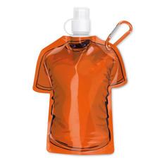 Bottiglia morbida a forma di T-shirt colore arancio MO8663-10