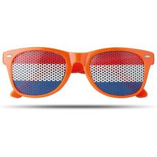 Occhiali da sole con bandiere sulle lenti colore arancio MO9275-10