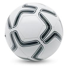 Pallone da calcio in PVC colore bianco-nero MO7933-33