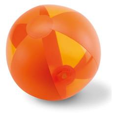 Pallone da spiaggia gonfiabile colore arancio MO8701-10