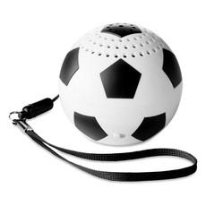 Speaker a forma di pallone da calcio colore bianco-nero MO9230-33