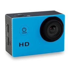 Videocamera da sport in custodia waterproof colore turchese MO8955-12
