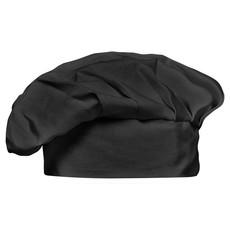 Cappello da cuoco in cotone con chiusura in velcro colore nero MO8409-03
