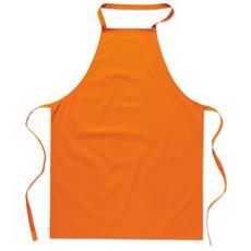Grembiule da cucina in cotone colore arancio MO7251-10