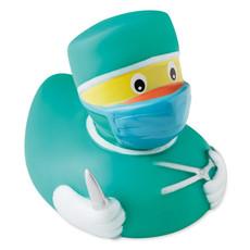 Paperella galleggiante mini a forma di dottore per bambini colore verde MO9285-09