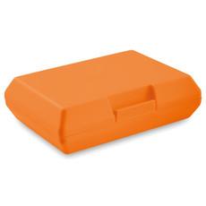 Scatola porta pranzo in PP colore arancio MO9035-10