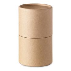 Set 30 pastelli in astuccio a forma di tubo di cartone colore beige IT2349-13