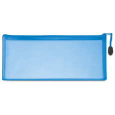 Astuccio ampio in PVC personalizzabile colore blu MO8993-04