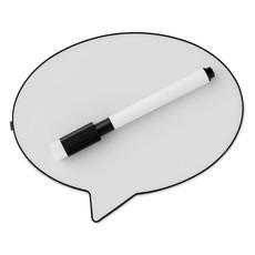 Lampada messaggi con pennarello cancellabile colore nero MO9197-03