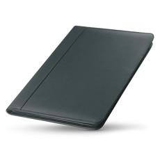 Porta blocnotes A4 a zip con scomparti e porta penne colore nero MO7597-03