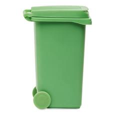 Portapenne a forma di pattumiera colore verde MO8791-09