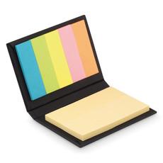 Set post it gialli e segna pagina colorati colore nero MO9217-03