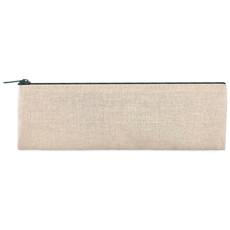 Set scrittura 6 pezzi in astuccio di juta e cotone colore beige MO9010-13