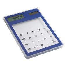 Calcolatrice 8 cifre da scrivania touch screen colore blu IT3791-04