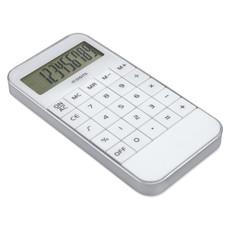 Calcolatrice a 10 cifre in abs a forma di Iphone colore bianco MO8192-06