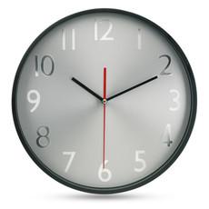 Orologio analogico da parete in vetro colore nero MO7503-03
