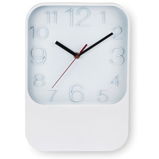 Orologio da muro quadrato colore bianco MO8766-06