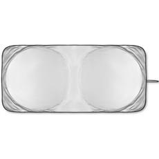 Parasole pieghevole per auto in pouch colore argento opaco MO8941-16