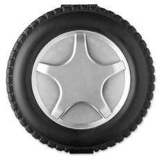 Set 25 attrezzi in confezione a forma di ruota con prolunga colore nero MO8471-03