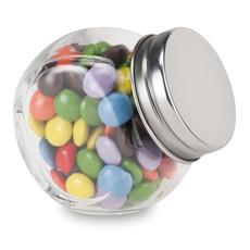 Barattolo di vetro con caramelle colorate al cioccolato colore multicolore KC6640-99