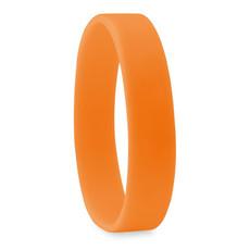 Braccialetto in silicone per eventi colore arancio MO8913-10