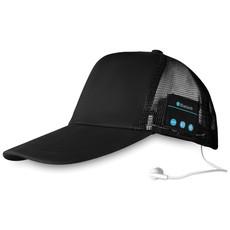Cappellino con cuffie bluetooth senza fili colore nero MO9081-03
