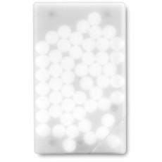 Dispenser per mentine a forma di carta di credito colore trasparente KC6637-22