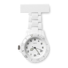 Orologio analogico per infermiere con batteria inclusa colore bianco MO8256-06