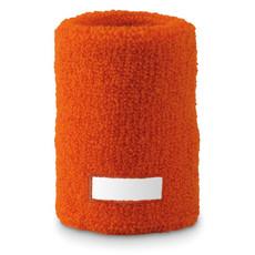 Polsino elastico in acrilico da sport colore arancio MO8673-10