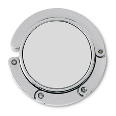 Reggiborsa per tavolo in confezione di cartone colore argento IT3441-14