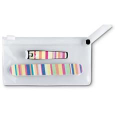 Set manicure con lima e taglia unghie in sacchetto colore multicolor IT3706-99