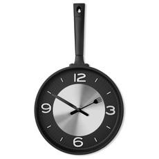 Orologio da parete a forma di padella colore nero MO9410-03