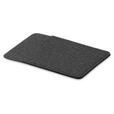 Porta carte di credito RFID con sticker sul retro colore nero MO9438-03