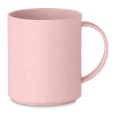 Tazza in Bamboo e PP da 300ml colore rosa MO9426-11