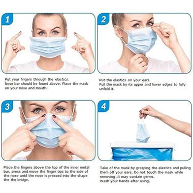 esempio utilizzo mascherine chirurgiche