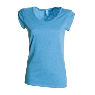 T-shirt donna manica corta alta qualità Underground Lady Vintage MelangePayper