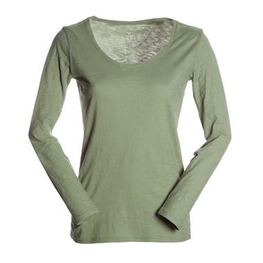 t-shirt donna manica lunga slubby jersey colorato Passenger Lady Payper