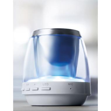 Bluetooth speaker mood light con micro USB colore bianco