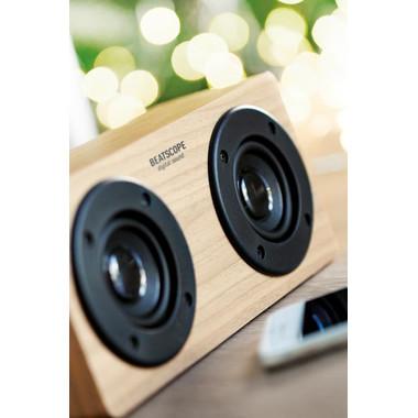 Speaker Bluetooth 2x3W 400 mAh colore legno