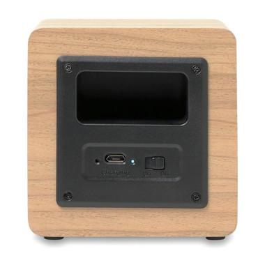 Speaker Bluetooth 350 mAh con cavo USB colore legno