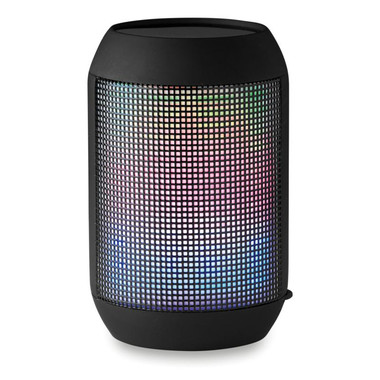 Speaker bluetooth con led multicolore colore nero