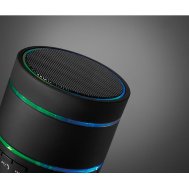 Speaker bluetooth con micro SD e AUX colore nero