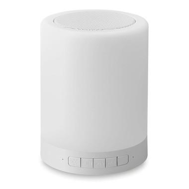Speaker con luce da tavolo multifunzione colore bianco MO9048-06