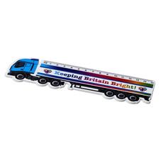 Righello Celsey da 15 cm a forma di camion - colore Bianco