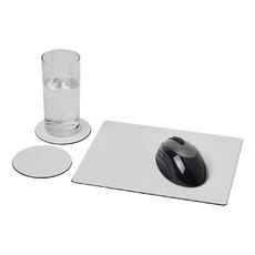 Set Brite-Mat® 2 con tappetino per mouse e sottobicchieri - colore Nero