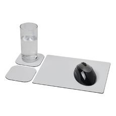 Set Brite-Mat® 3 con tappetino per mouse e sottobicchieri - colore Nero